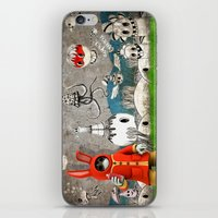 Super Bunny iPhone & iPod Skin