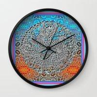 Dragon Garden 2 Wall Clock
