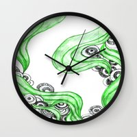FANTASIA VERDE Wall Clock