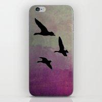 Goose Flight - JUSTART © iPhone & iPod Skin
