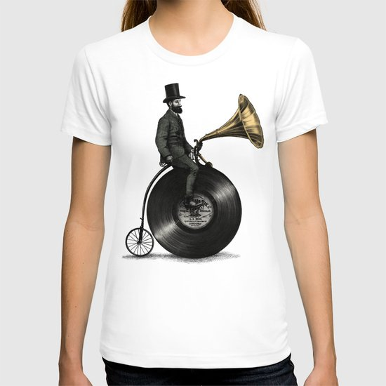 Music Man (Green Option) T-shirt