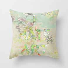 I HATE ART Throw Pillow