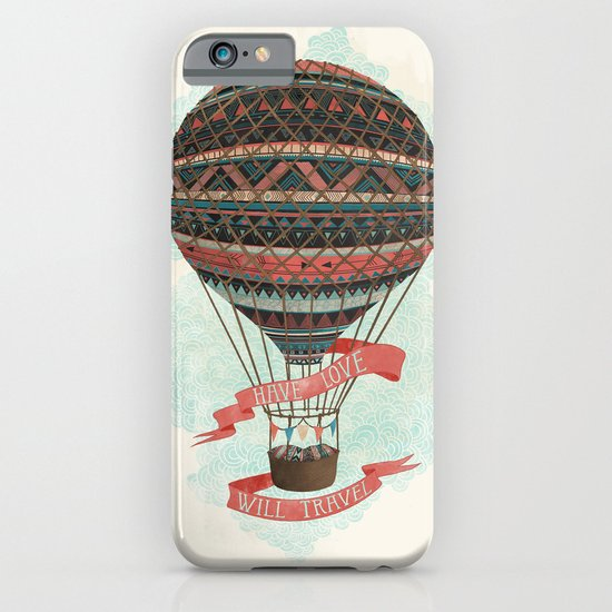 have love, will travel iPhone & iPod Case