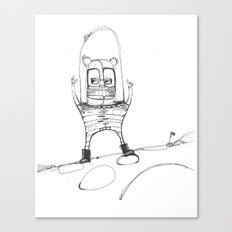 Spacebear Canvas Print