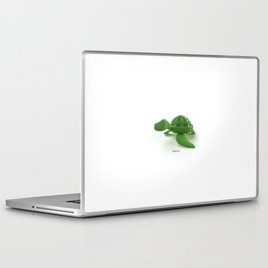 turtle. Laptop & iPad Skin
