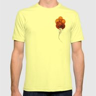 SKULLOONS B21 Mens Fitted Tee Lemon SMALL