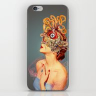 iPhone & iPod Skin featuring Freud Vs Jung by Eugenia Loli