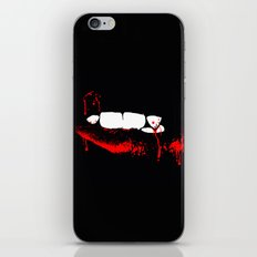 vampire iPhone & iPod Skin