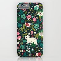 friends iPhone & iPod Cases featuring Forest Friends by Anna Deegan