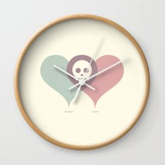 Montague and Capulet Wall Clock