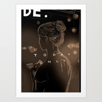 Today Only Art Print