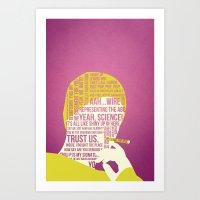 Breaking Bad - Pinkman Art Print
