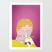 Breaking Bad - Pinkman Art Print