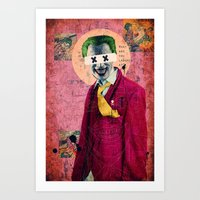 What Are You Laughin' At? Art Print