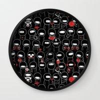 Procrast-Ninjation Wall Clock