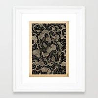 - spectral - Framed Art Print
