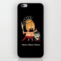 Spartan Career Test iPhone & iPod Skin