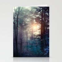 A walk in the forest Stationery Cards
