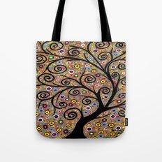 Abstract tree-11 Tote Bag