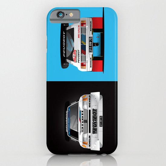 Group B Edition, N.º1, Peugeot 205 T16 E2 iPhone & iPod Case