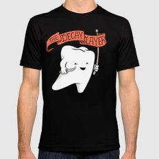 Decay Slayer Mens Fitted Tee Black SMALL