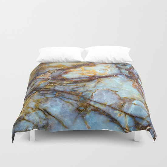 Marble Duvet Cover By Patterns And Textures Society6