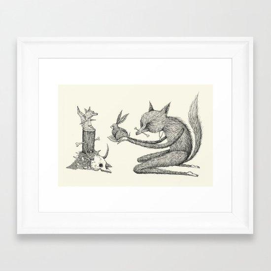 'Offering' Framed Art Print