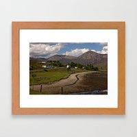 Road On The Skye Framed Art Print