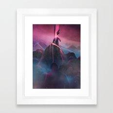 Bruised Beautiful Dreams Framed Art Print