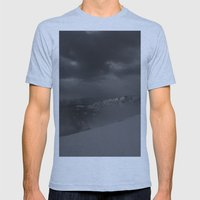 Sonora Pass Mens Fitted Tee Athletic Blue SMALL