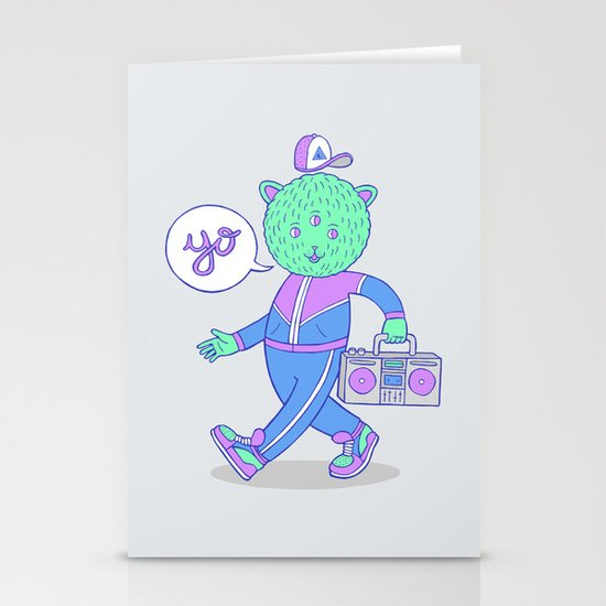 yo! Stationery Card