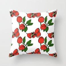 Jamaican Botanicals - Ackee Throw Pillow