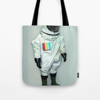 Mr CMYK Tote Bag