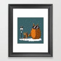 Toto Rider Framed Art Print