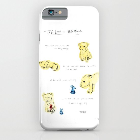 the lion  and the mouse. iPhone & iPod Case