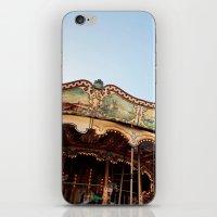 Carousel In Marseille iPhone & iPod Skin