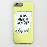 Believe in Rock & Roll iPhone 6 Slim Case