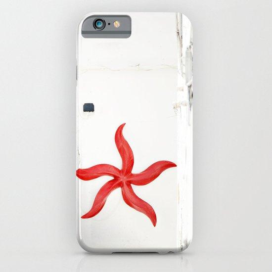 white&red mediterráneo iPhone & iPod Case