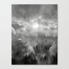 Black And White - Wish Y… Canvas Print
