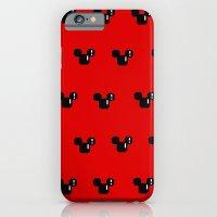 8 Bit Mouse Pattern iPhone 6 Slim Case