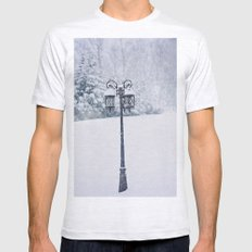 Welcome to Narnia Mens Fitted Tee Ash Grey SMALL