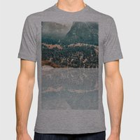 Yosemite Valley - Fall C… Mens Fitted Tee Athletic Grey SMALL