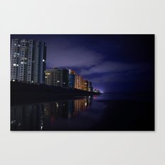 Daytona at Night Canvas Print