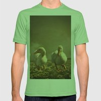 Dancing On Daisies Mens Fitted Tee Grass SMALL