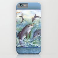 Dolphins iPhone 6 Slim Case