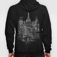 Paris B&W (Dark T-shirt … Hoody