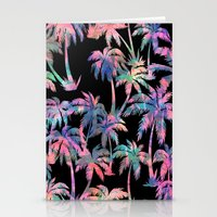 Maui Palm {Black} Stationery Cards