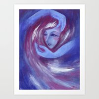Support From Universe Art Print