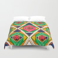 Try Tiles Duvet Cover