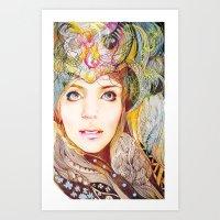 Nasimeh Art Print